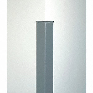 Corner Guard,3 x 96 In,Gray,Smooth