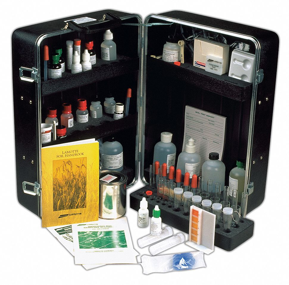 Soil Fertility Testing Kit,  3.8 to 9.6 ph pH Range
