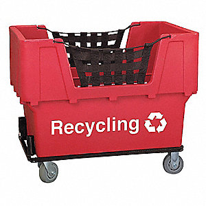 Red Cube Truck, 23.0 cu. ft. Capacity, 1100 lb. Load Capacity
