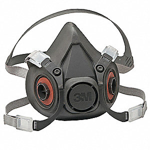 3M(TM) 6000 Series Half Mask,L