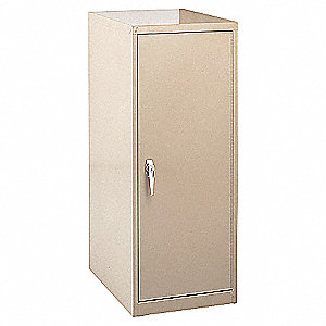 Vertical File Cabinet,54 1/2Hx16Wx39D In
