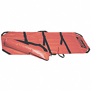 Soft Stretcher,350 lb.,78 In.,Orange