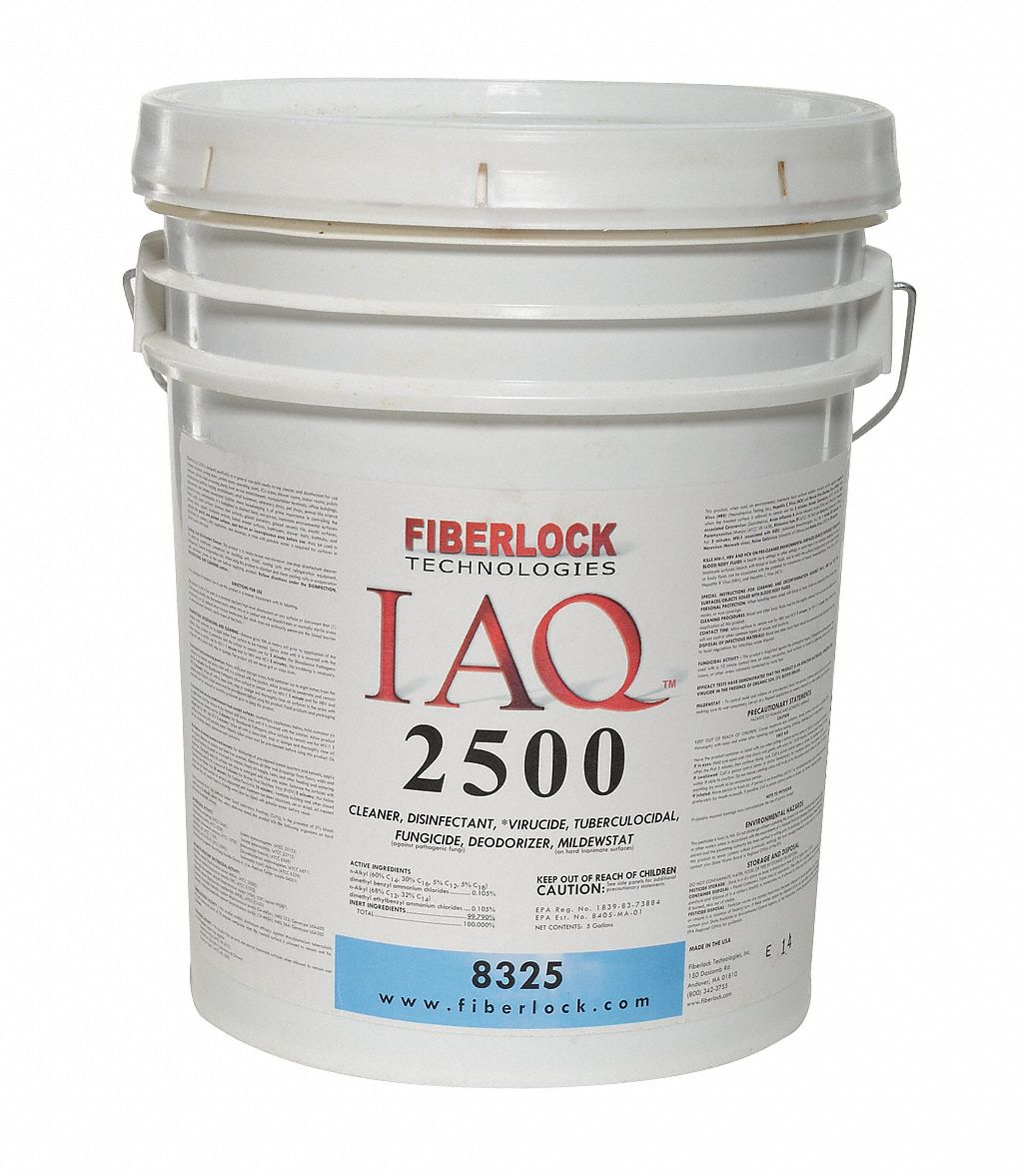 Disinfectant,  5 gal Cleaner Container Size,  Pail Cleaner Container Type,  Fresh Linen Fragrance