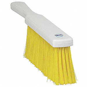 Yellow Bench Brush, Overall Length 14""