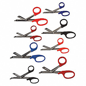 "Red EMT Shear, Angled Blade End Style, Stainless Steel Blade Material, 7-1/4"" Length"