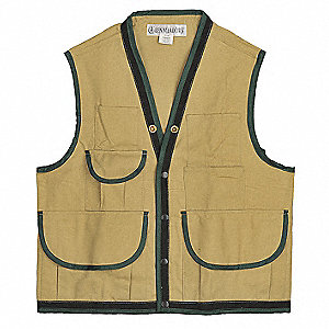 Vest,M ,Tan,10 Pockets