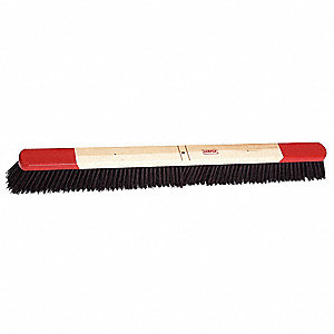 "Push Broom Head,Synthetic,36"" Block"