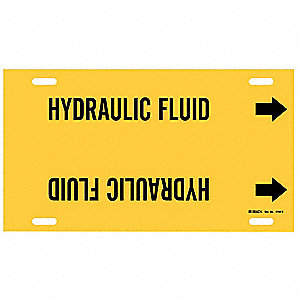 Pipe Markr, Hydraulic Fluid, Y, 8to9-7/8 In