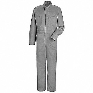 Coverall,Chest 48In.,Fisher Herringbone