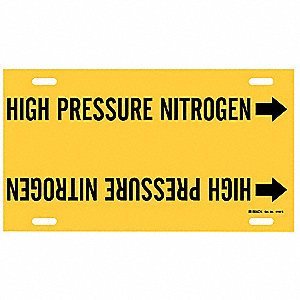 Pipe Mkr, High Pressure Nitrogen, 8to9-7/8