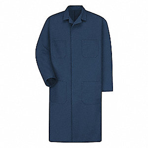 Shop Coat,No Insulation,Navy,3XL