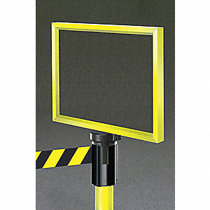 BARRIER POST 119225 SIGN HOLDER GLOSS