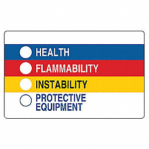 HMIG Label,1-7/8 In. H,3 In. W,PK500