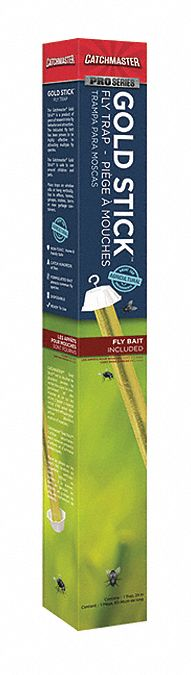 Bait Stick Fly Trap for Flies, Wasps, 1EA
