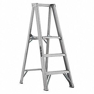 Aluminum Platform Stepladder 4 Ft 9 Ladder Height 2 10