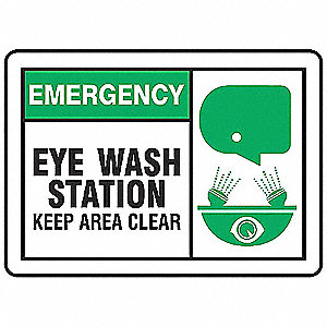"First Aid Sign,10"" x 14"",Plastic"