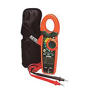 Clamp Meter,0.1 to 40 MOhms