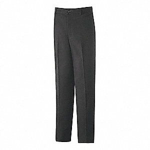 "Men's Industrial Work Pants, 65% Polyester/35% Cotton, Color: Charcoal, Fits Waist Size: 29"" x 32"""