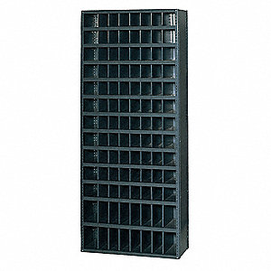 Bin Unit,104 Bins,36 x 18 x 85 In.