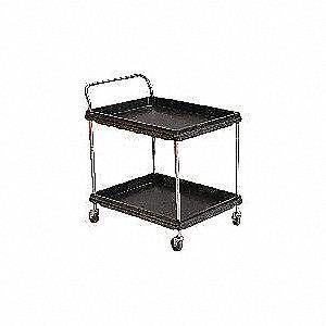 Utility Cart,300 lb. Load Cap., PE