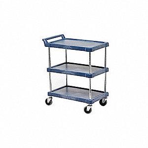 Utility Cart,800 lb. Load Cap., PE