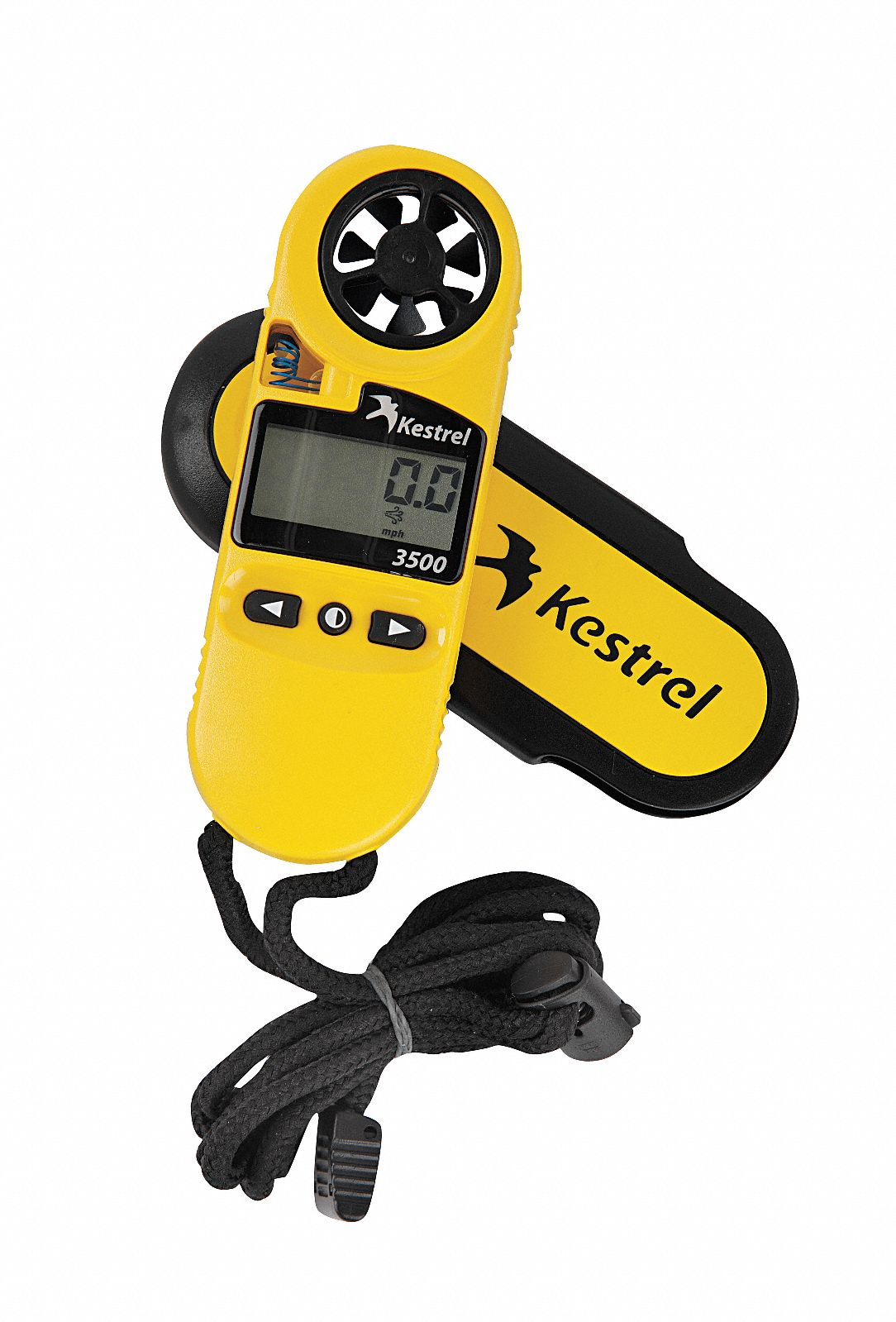 Anemometer,  Rotating Vane,  No,  Yes,  118 to 7874 Velocity (FPM),  0.6 to 40 Velocity (MPS)