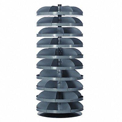 8DRZ1 - Revolving Bin 28 In 10 x 500 lb Shelf