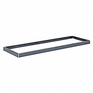 "Shelf,36"" D,60"" W,2-3/4"" H,No Decking"