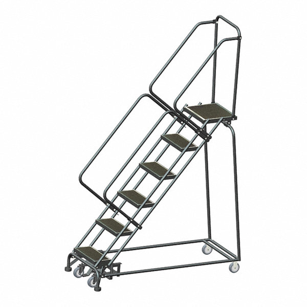 Ballymore 6 Step Rolling Ladder Rubber Mat Step Tread 93