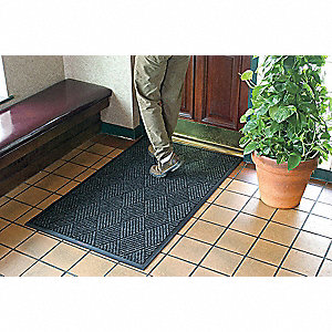 Charcoal Polypropylene, Entrance Runner, 4 ft. Width, 20 ft. Length