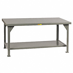 "Workbench, 48"" Width, 30"" Depth  Steel Work Surface Material"