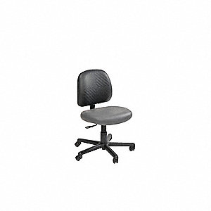 "RhinoPlus Urethane Task Chair, 37-1/2"" Overall Height"