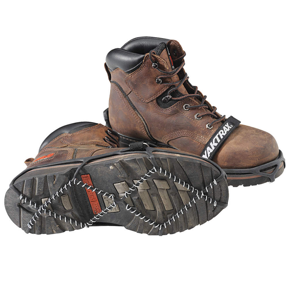Men's Strap On Ice Cleats, Traction Type: Coil, Fits Shoe Size: 11-1/2 to  13-1/2