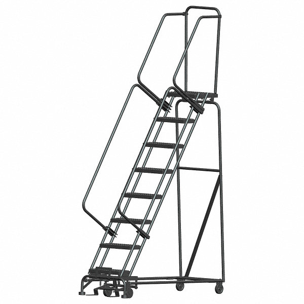 Ballymore 8 Step Rolling Ladder Serrated Step Tread 113