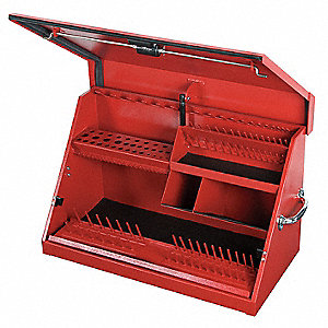 MEDIUM TOOL BOX RED