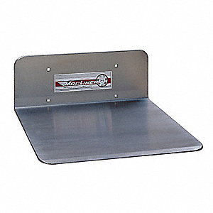Nose Plate,Aluminum,16x12 In., J Ext