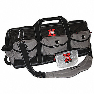 Synthetic Tool Bag, General Purpose, Number of Pockets: 1, Black