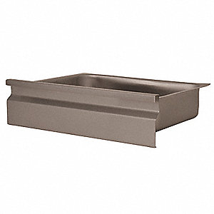Drawer,17-3/4 x 20 x 5 In.,Stainless Stl