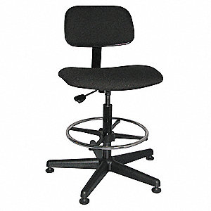 Swivel Stool, Black