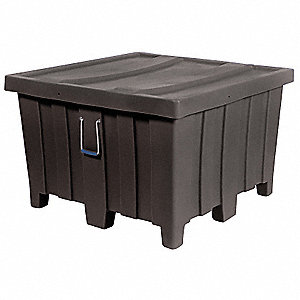 Container,23 cu.-ft.,1200 lbs.,Black