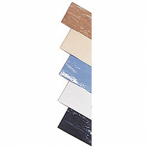 "Antifatigue Mat, Rubber, 30"" x 18"", 1 EA"