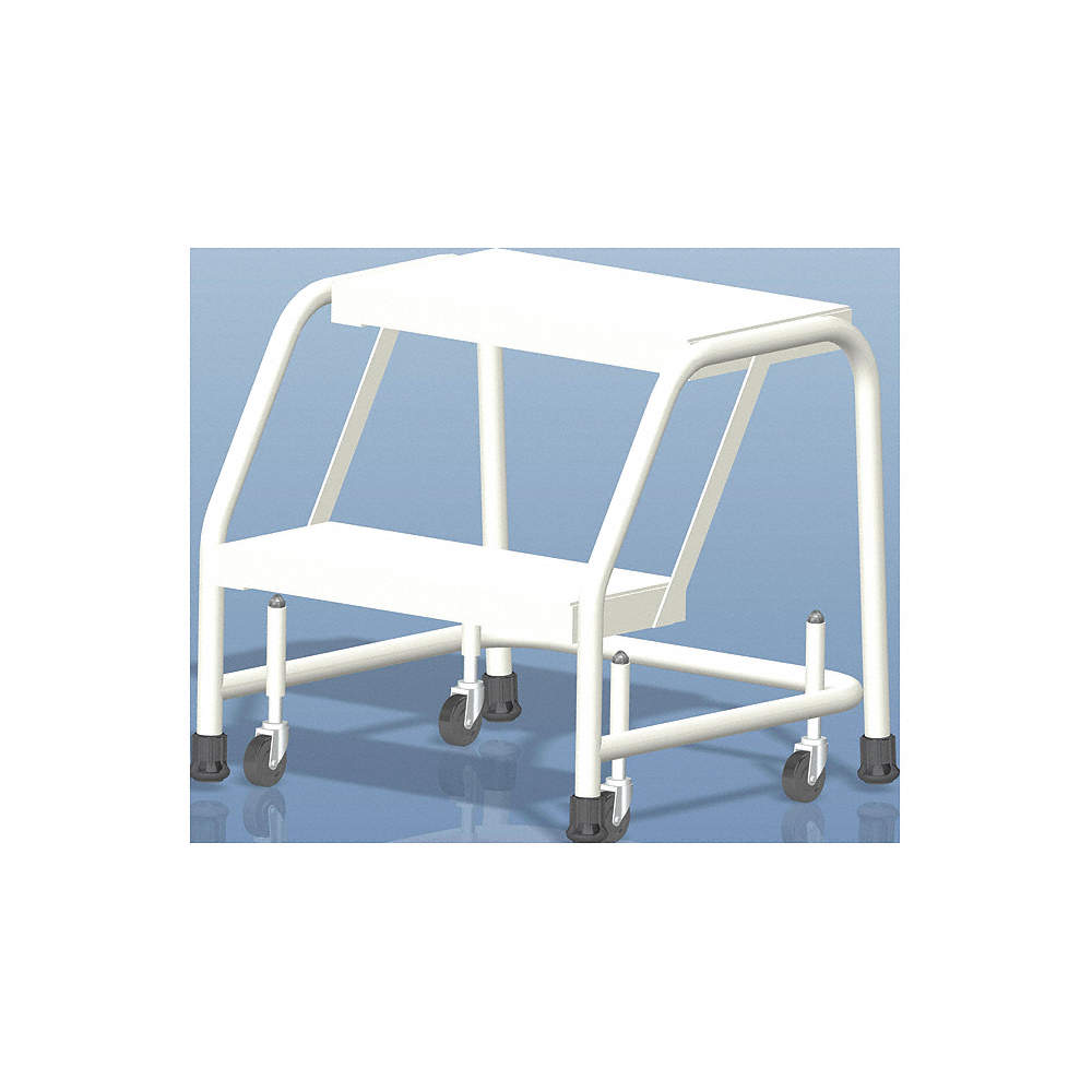 Amazing Ballymore 2 Step Rolling Ladder Rubber Mat Step Tread 19 Ocoug Best Dining Table And Chair Ideas Images Ocougorg