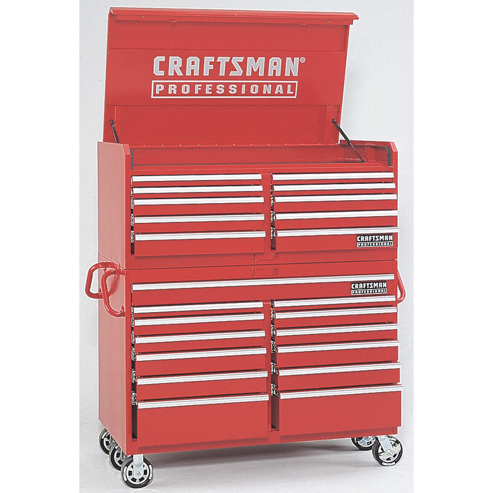 CRAFTSMAN Red Rolling Cabinet, 42-1/2
