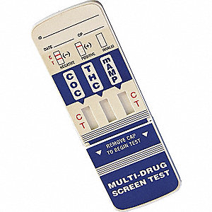 3-Panel Drug Test Card, Detects Drugs and Metabolites; PK25