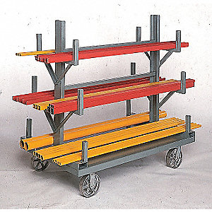 Bar and Pipe Truck,4000 lb.,48 In.L