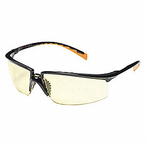 Privo  Anti-Fog Safety Glasses, Amber Lens Color
