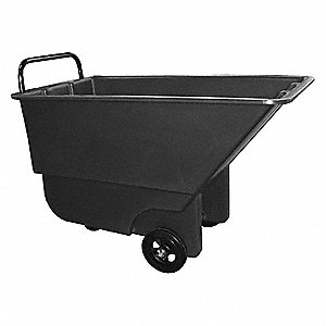Tilt Truck, 1/3 cu. yd. Volume Capacity, 275 lb. Load Capacity, Light-Duty Hopper Type