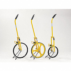 Measuring Wheel,4 ft.,Plastic Spokes