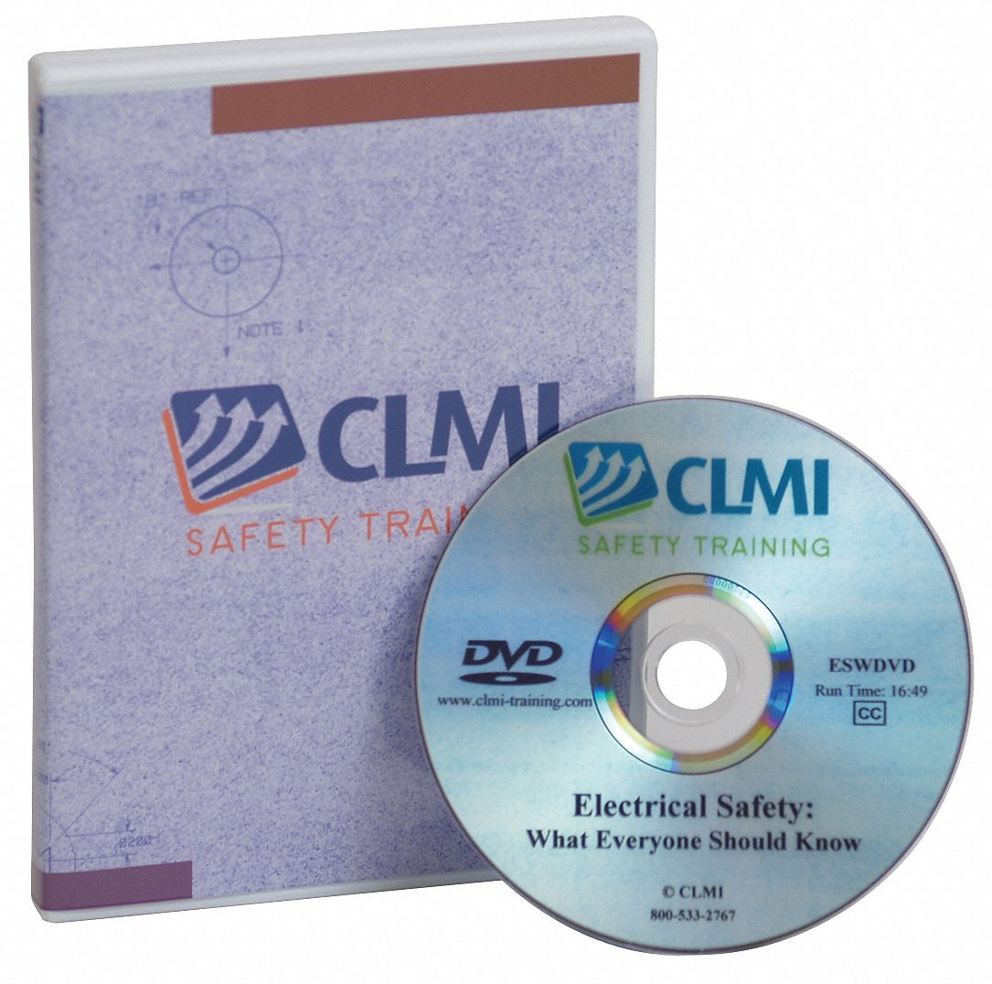 Training DVD,  DVD,  Lockout/Tagout