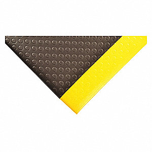 Antifatigue Mat, Vinyl Sponge, 6 ft. x 2 ft., 1 EA